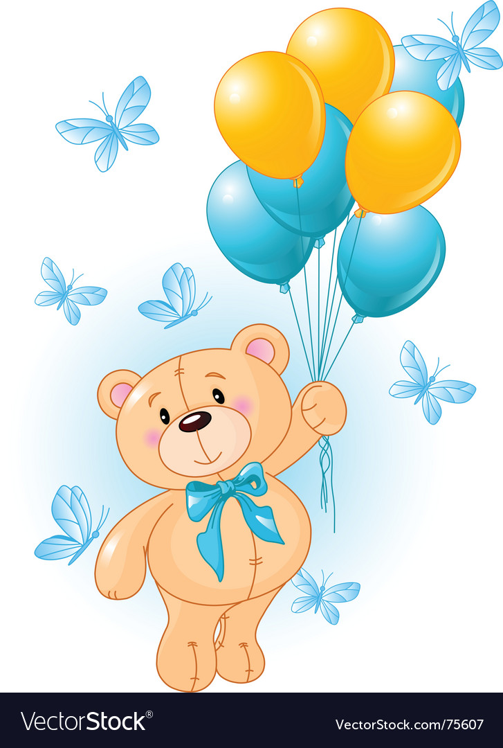 Boy teddy vector | Price: 3 Credit (USD $3)