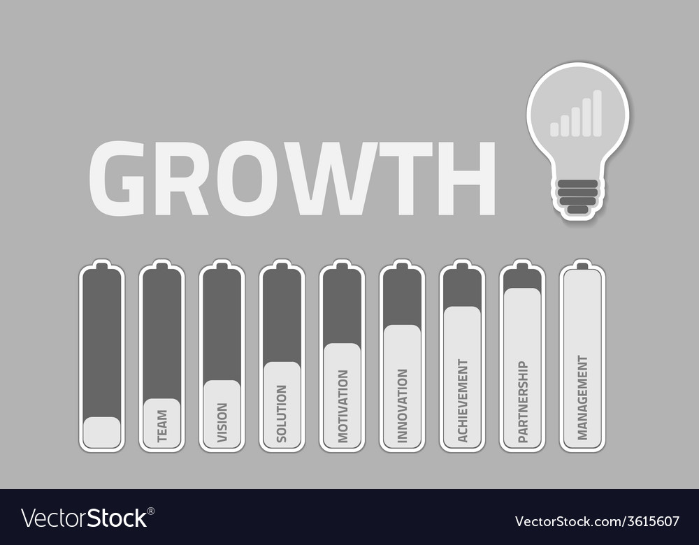 Business growthconcept vector   Price: 1 Credit (USD $1)