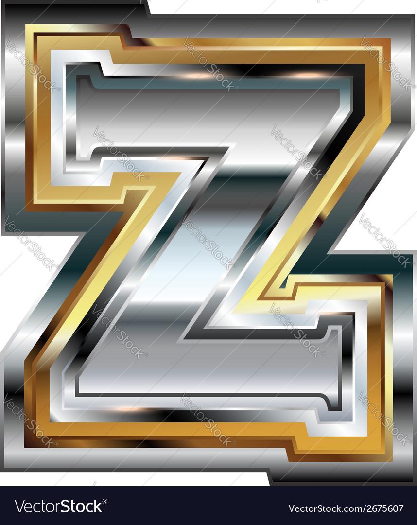 Fancy font letter z vector | Price: 1 Credit (USD $1)