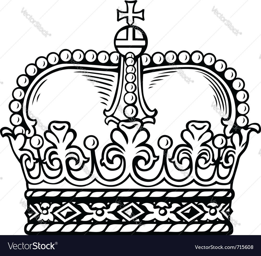 Crown vector | Price: 1 Credit (USD $1)