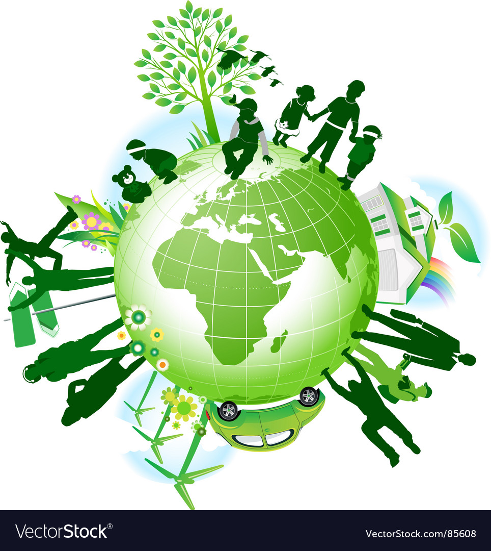 Global eco vector | Price: 1 Credit (USD $1)