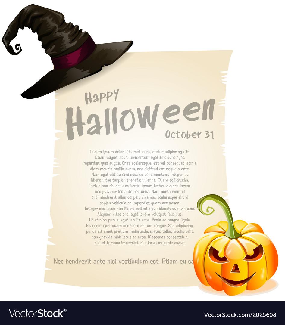 Halloween design vector | Price: 1 Credit (USD $1)
