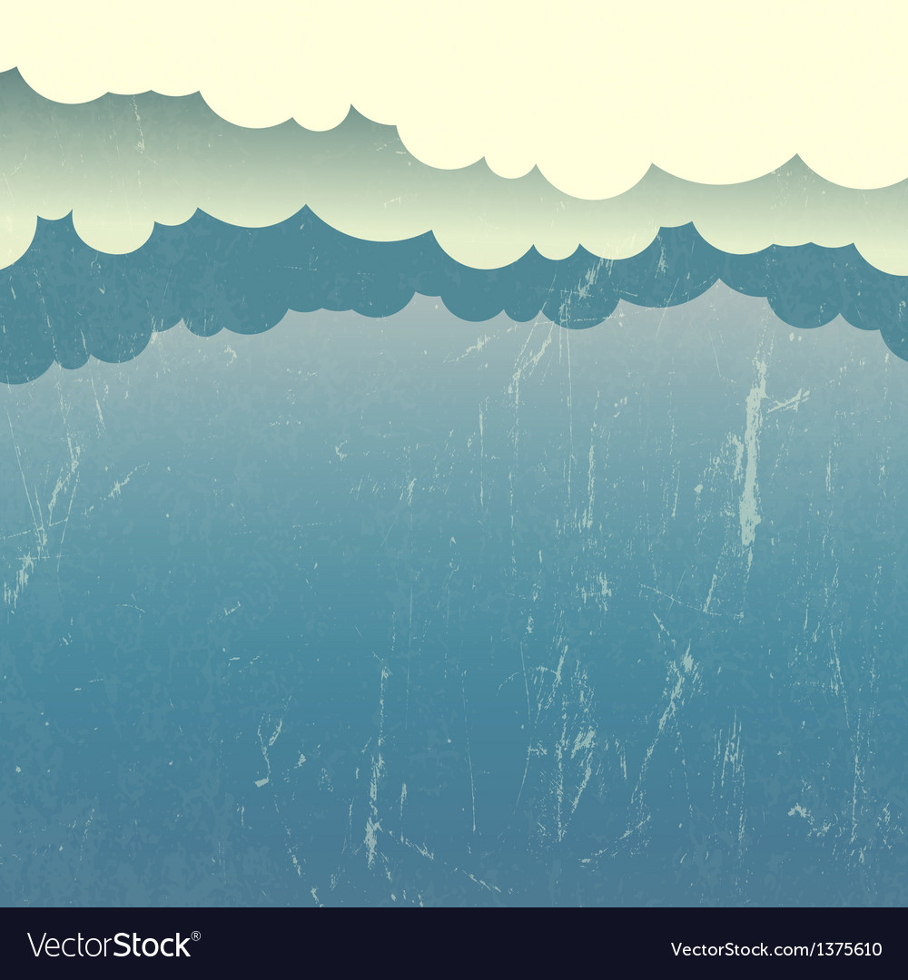 Abstract sky and clouds vector   Price: 1 Credit (USD $1)