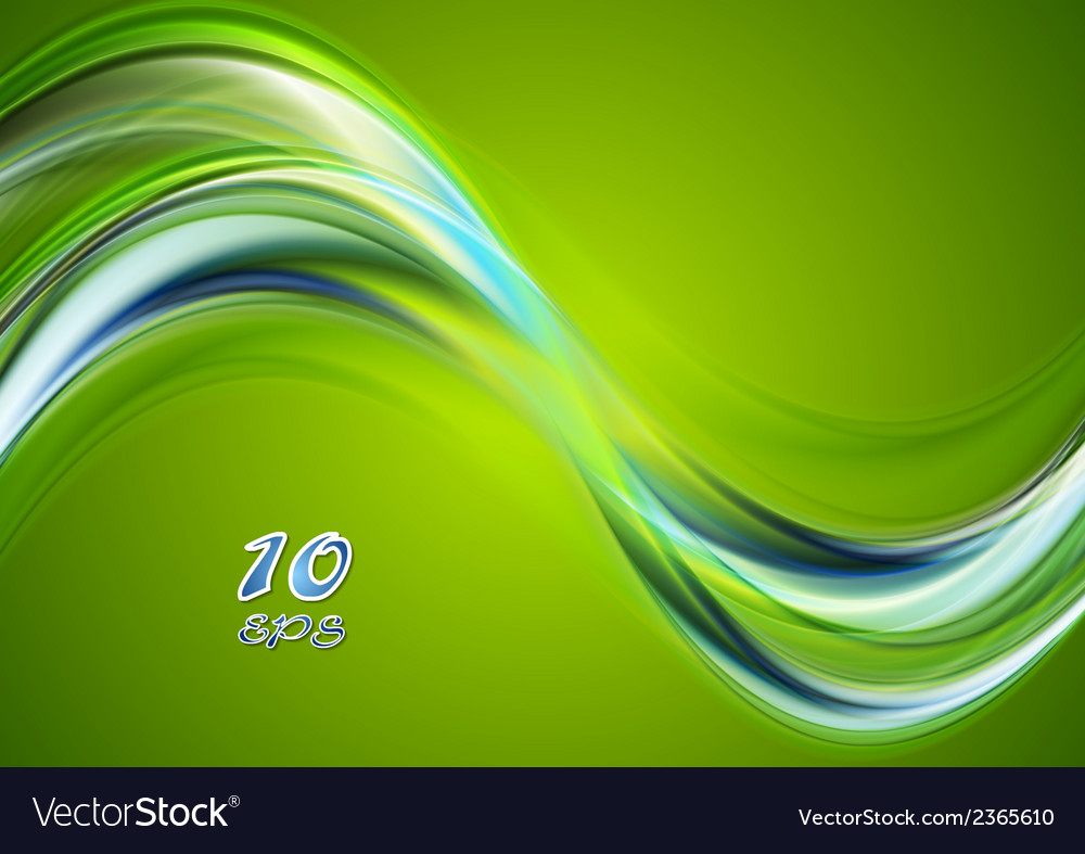 Colorful abstract wavy background vector | Price: 1 Credit (USD $1)