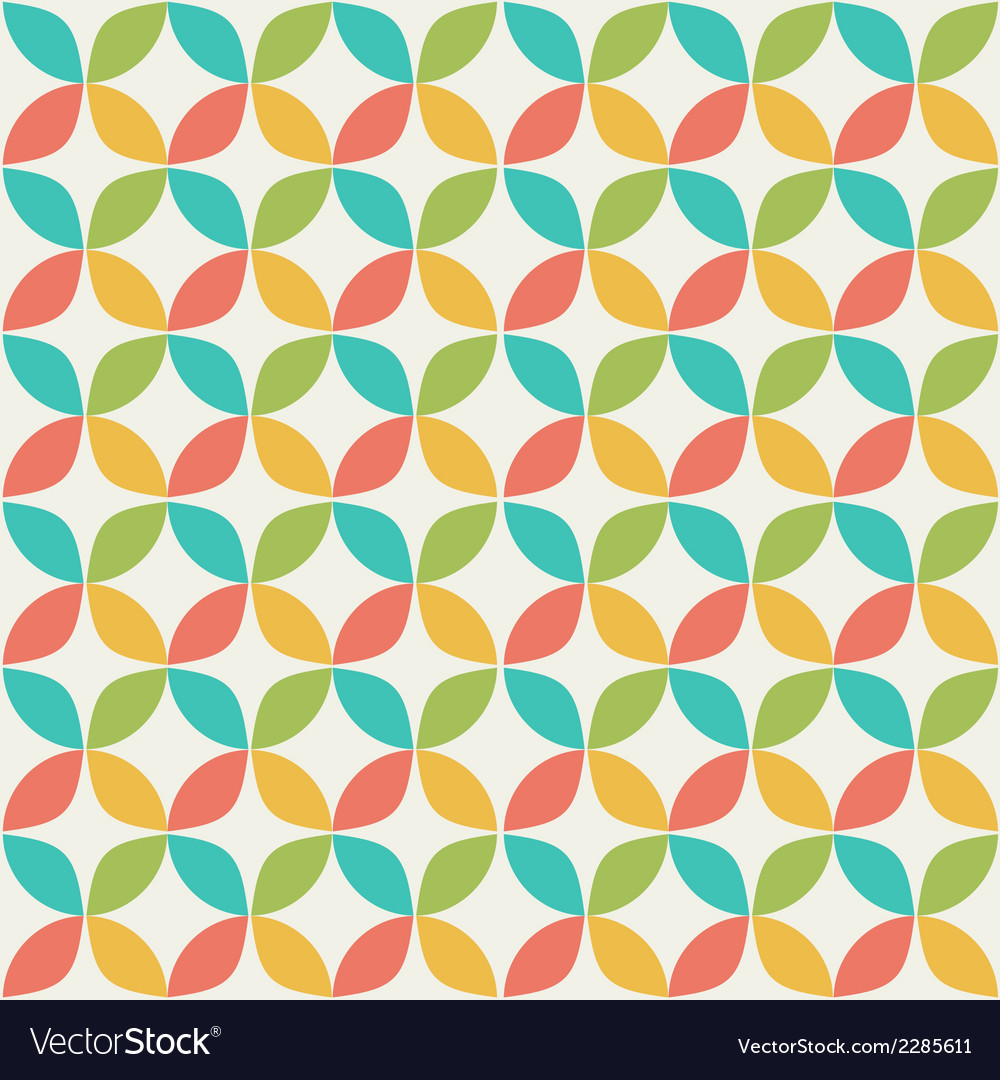 Colorful geometrical pattern vector | Price: 1 Credit (USD $1)