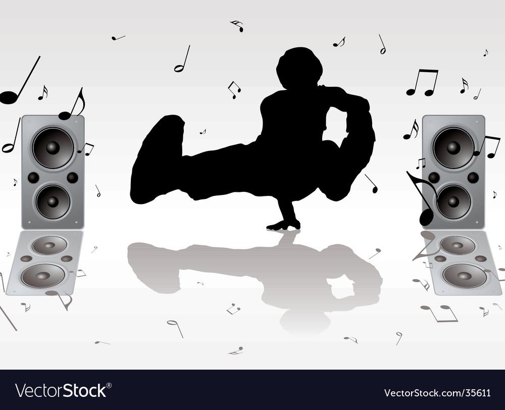 Dance music vector | Price: 1 Credit (USD $1)