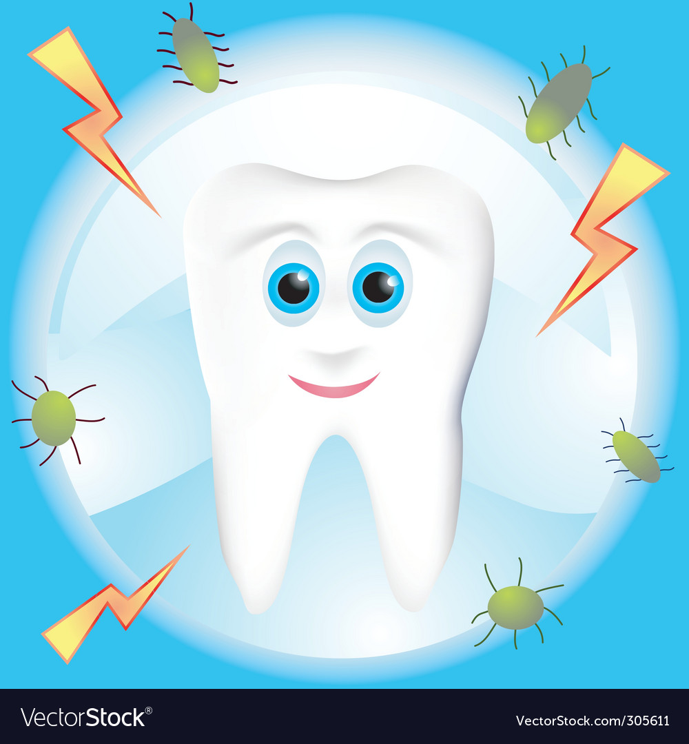 Tooth decay vector | Price: 1 Credit (USD $1)