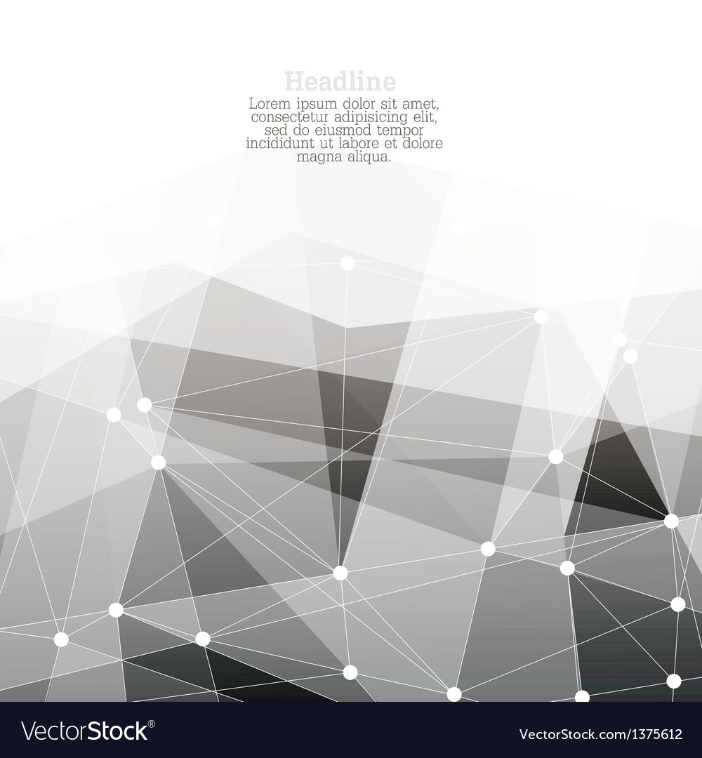 Monochrome abstract background with copyspace vector | Price: 1 Credit (USD $1)