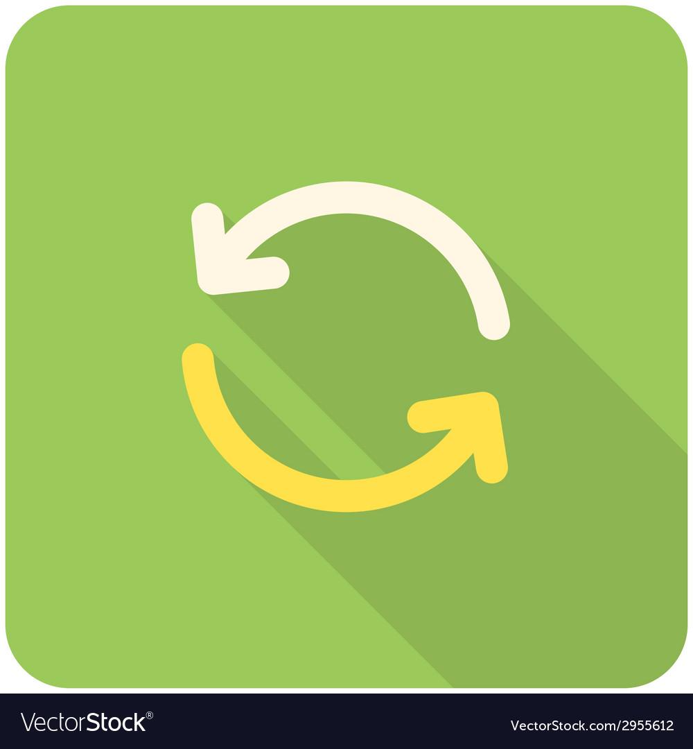 Refresh icon vector | Price: 1 Credit (USD $1)