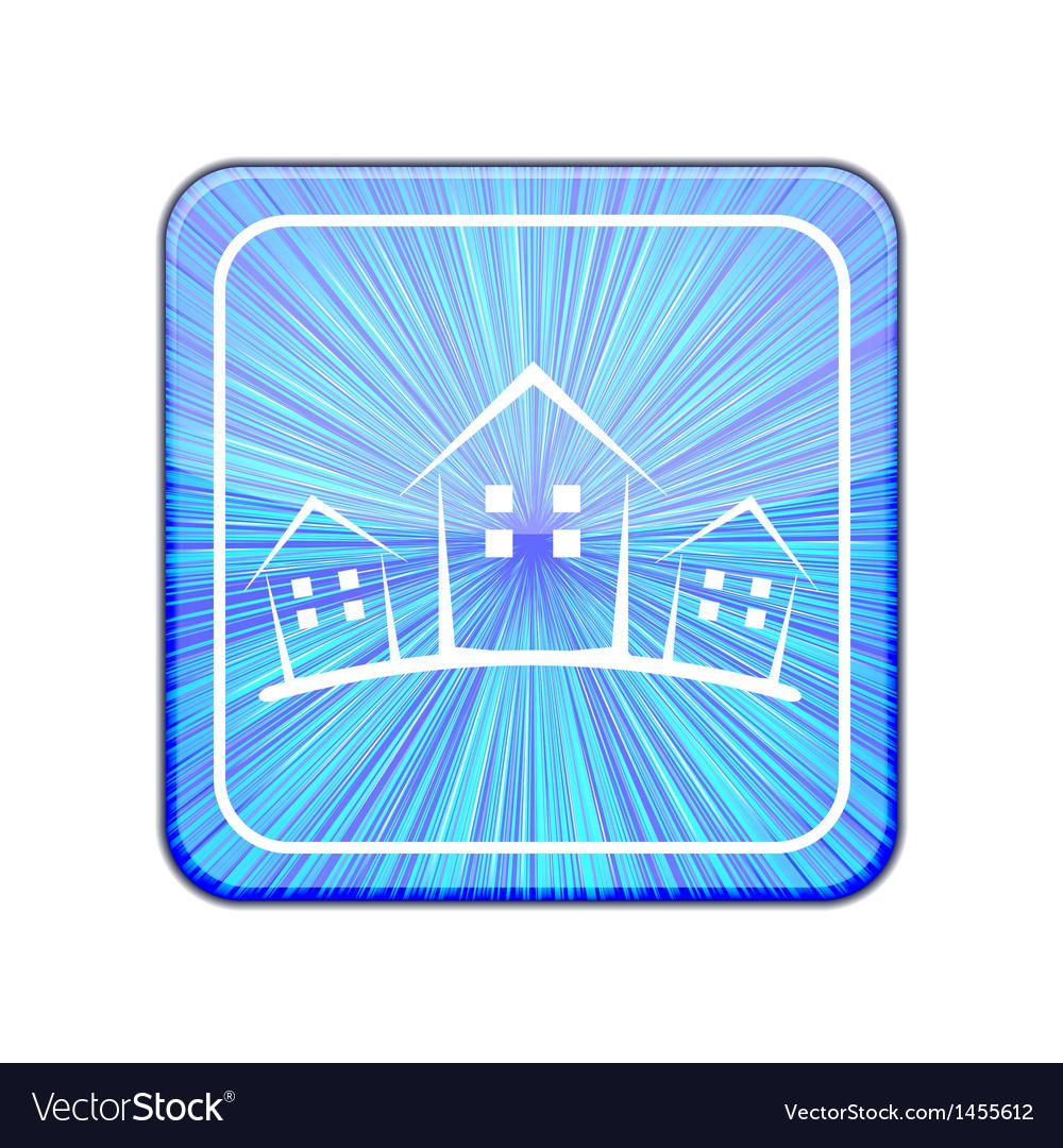 Version real estate icon eps 10 vector | Price: 1 Credit (USD $1)