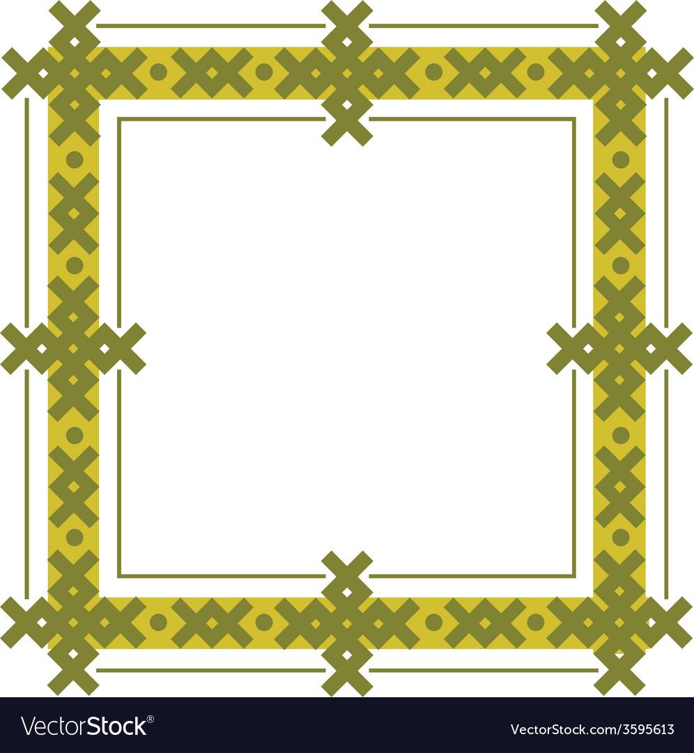 Celtic frame vector | Price: 1 Credit (USD $1)
