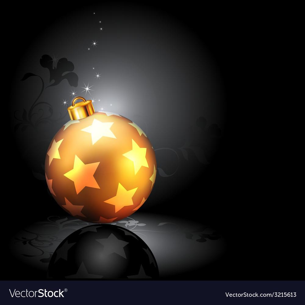 Christmas balls design vector | Price: 1 Credit (USD $1)