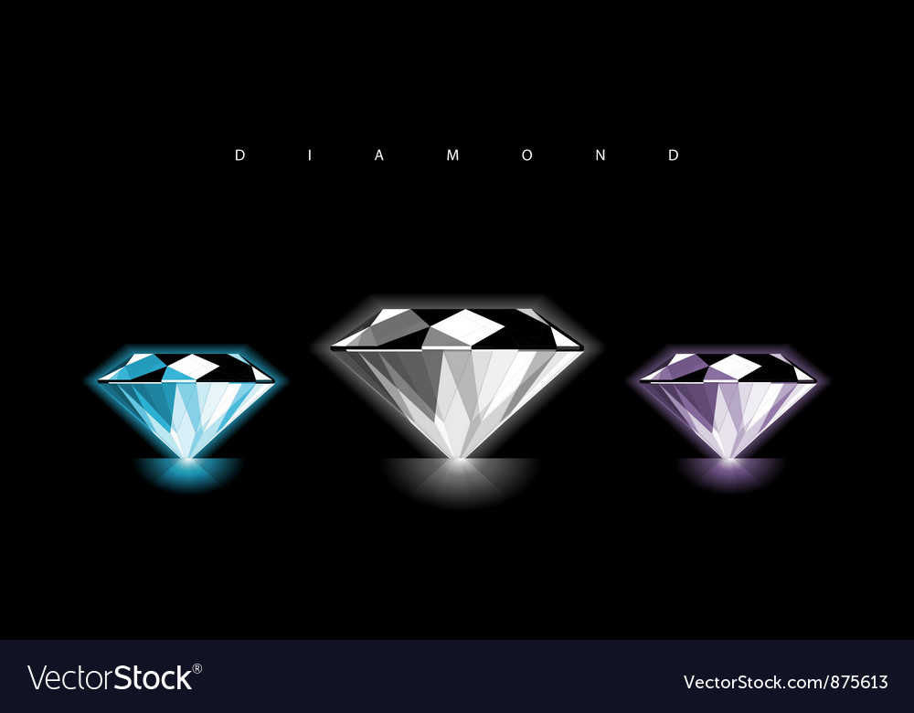 Diamond design vector | Price: 1 Credit (USD $1)