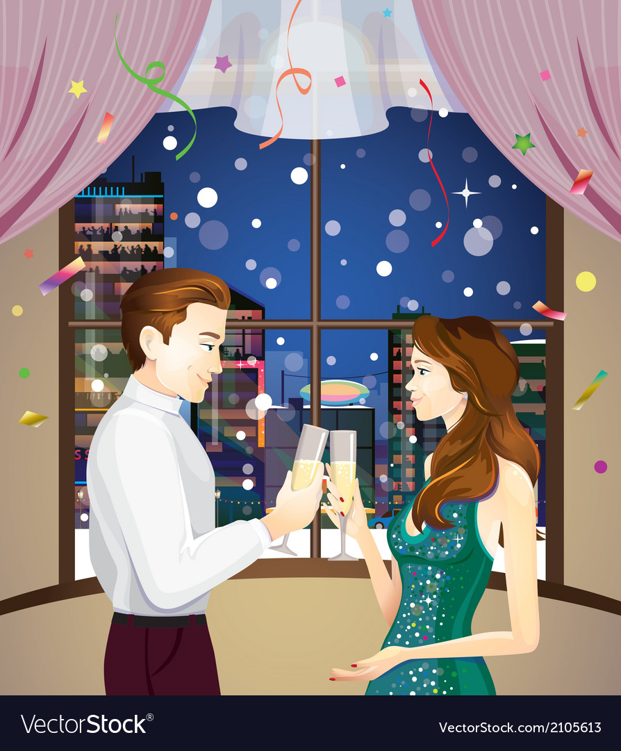 New years eve vector | Price: 1 Credit (USD $1)