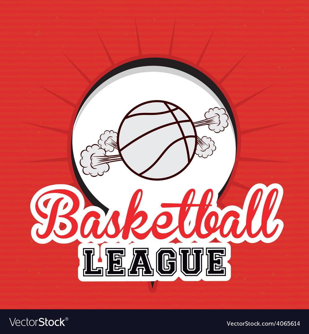 Basketball desing vector | Price: 1 Credit (USD $1)