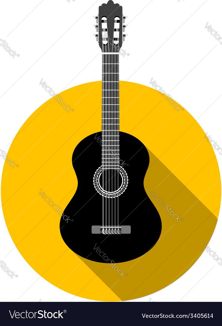 Classical guitar vector   Price: 1 Credit (USD $1)