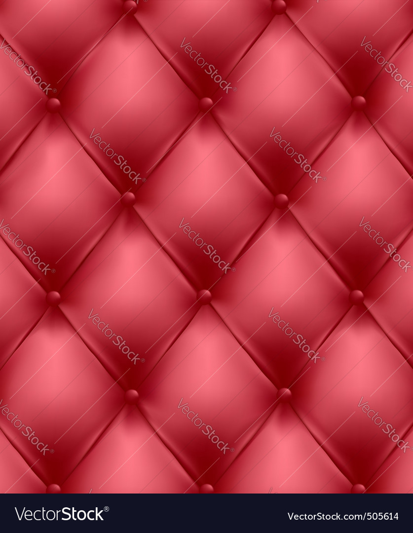 Red genuine leather upholstery vector | Price: 3 Credit (USD $3)