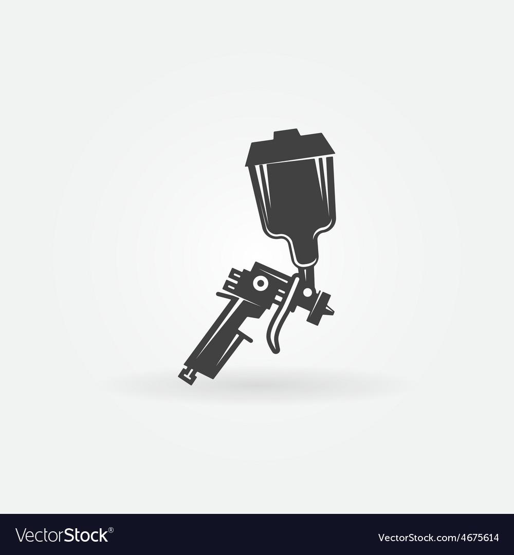 Spray gun icon vector | Price: 1 Credit (USD $1)