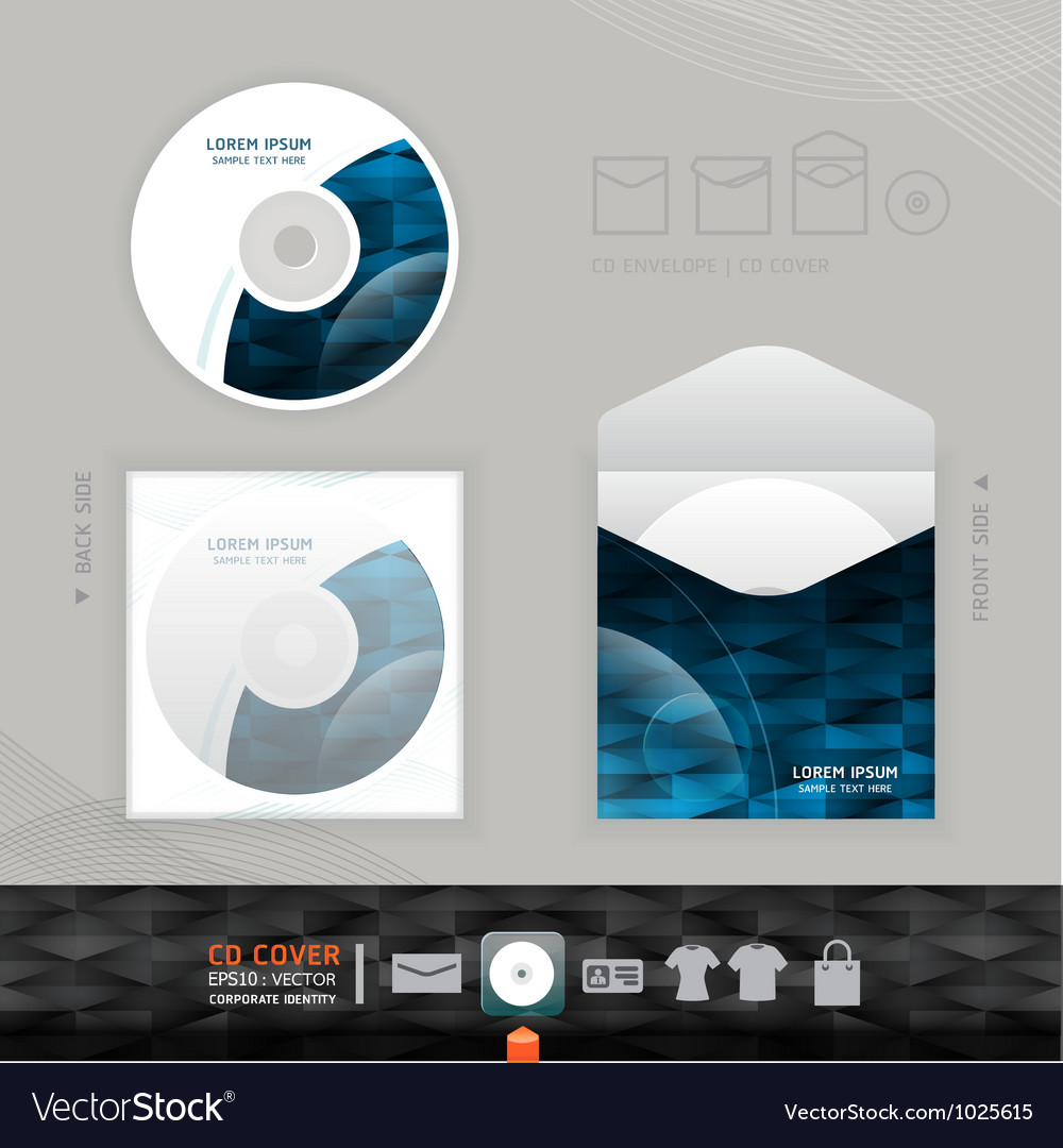 Cd modern design template corporate identity vector | Price: 3 Credit (USD $3)