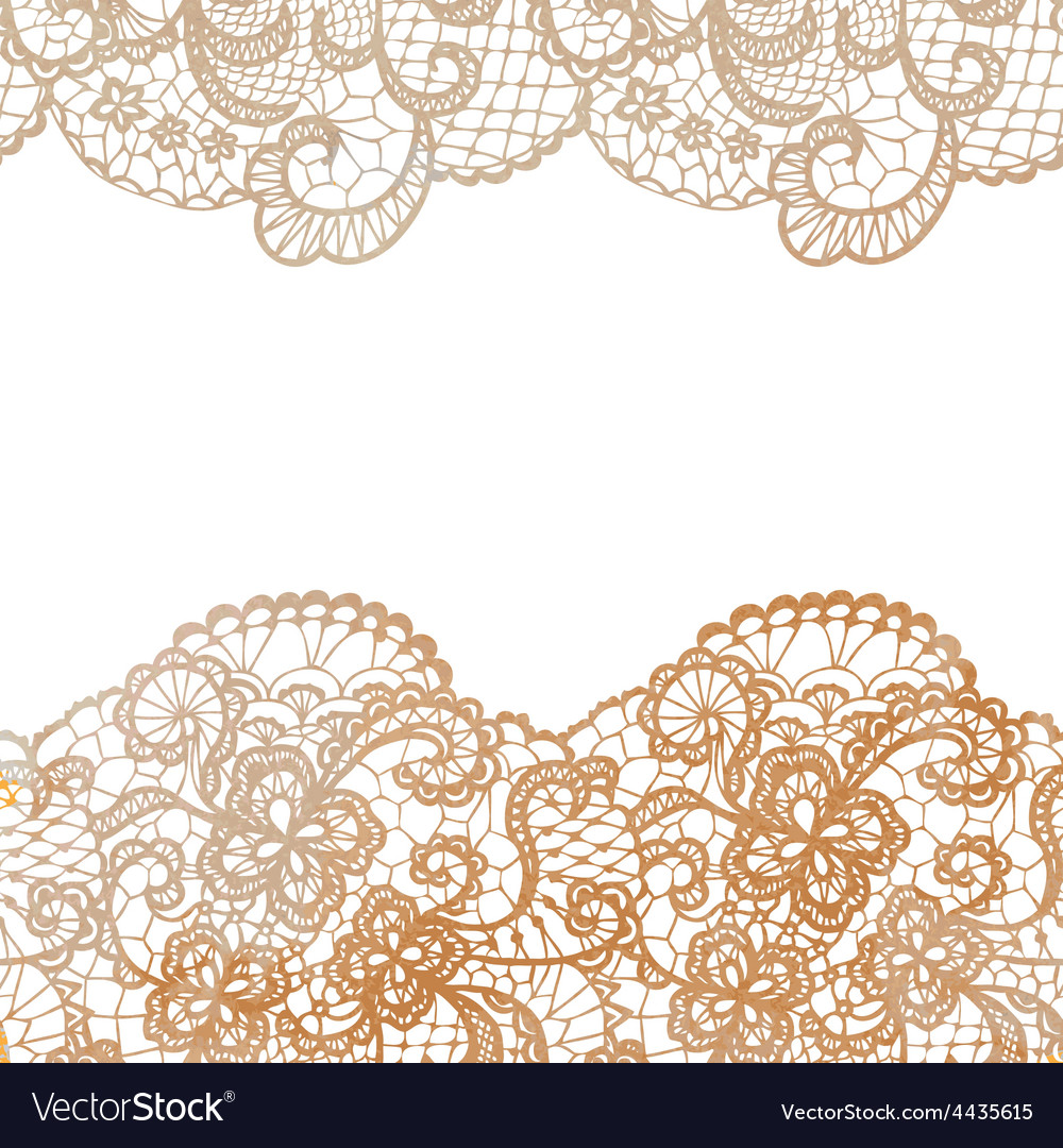 Lacy elegant border invitation card vector | Price: 1 Credit (USD $1)