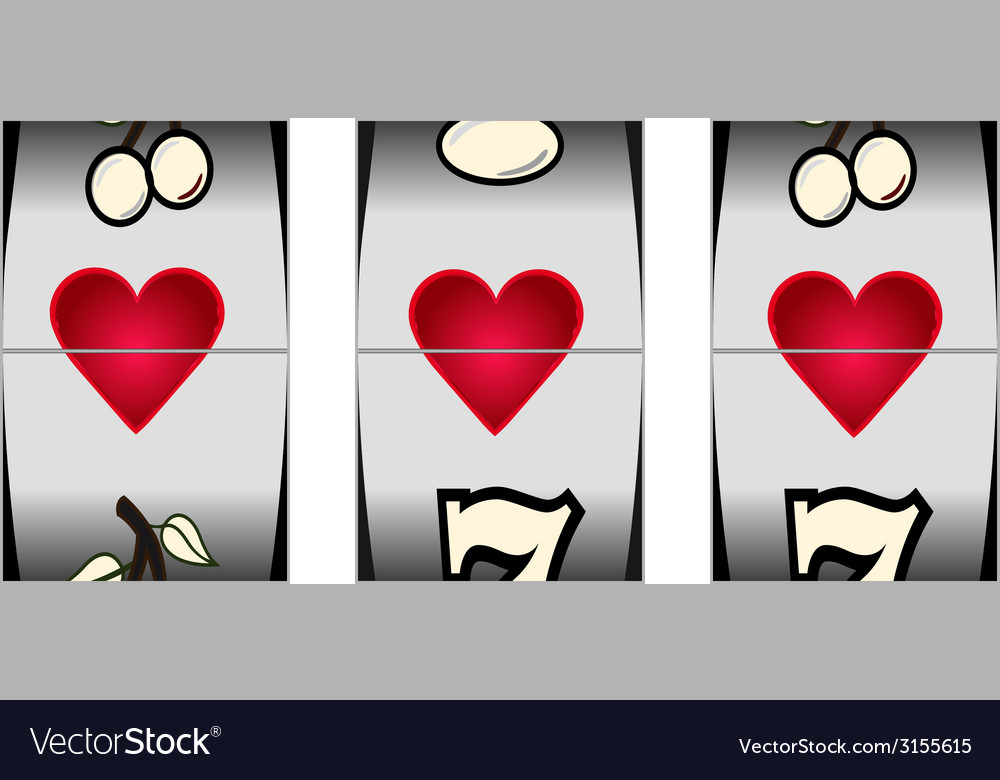 Love slot vector | Price: 1 Credit (USD $1)
