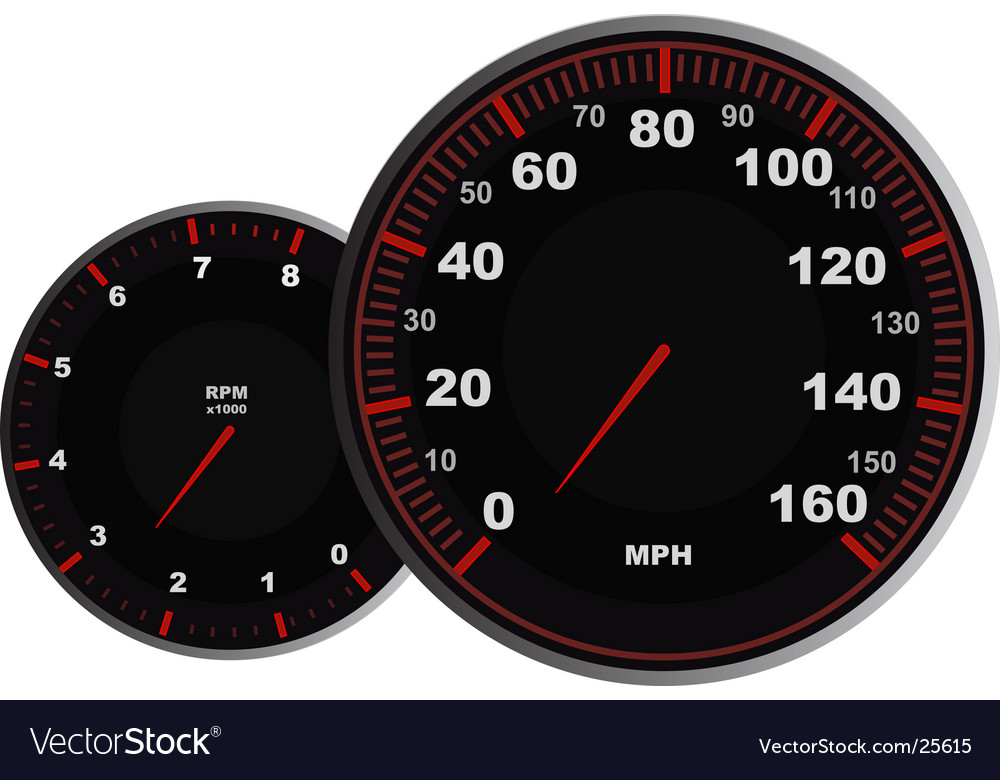 Speedometer vector | Price: 1 Credit (USD $1)