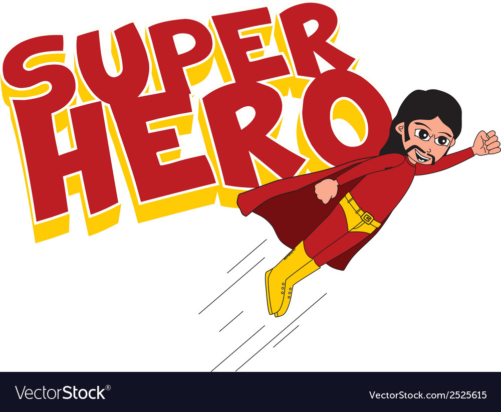 Super hero vector | Price: 1 Credit (USD $1)