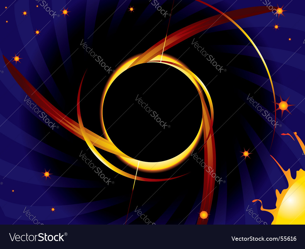 Black hole vector | Price: 1 Credit (USD $1)