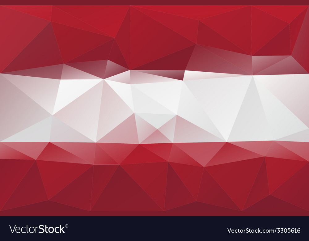 Latvian flag vector | Price: 1 Credit (USD $1)