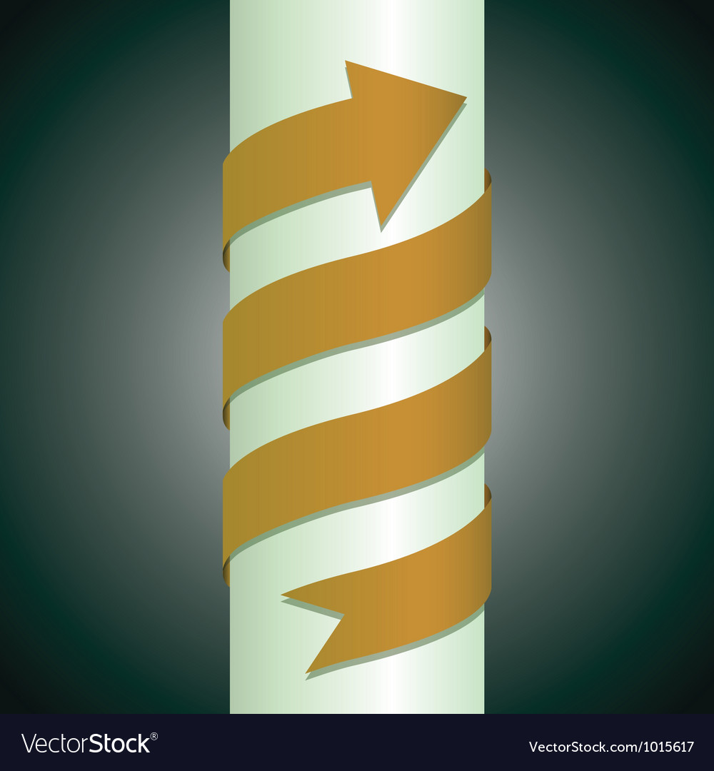 Arrow pillar vector | Price: 1 Credit (USD $1)