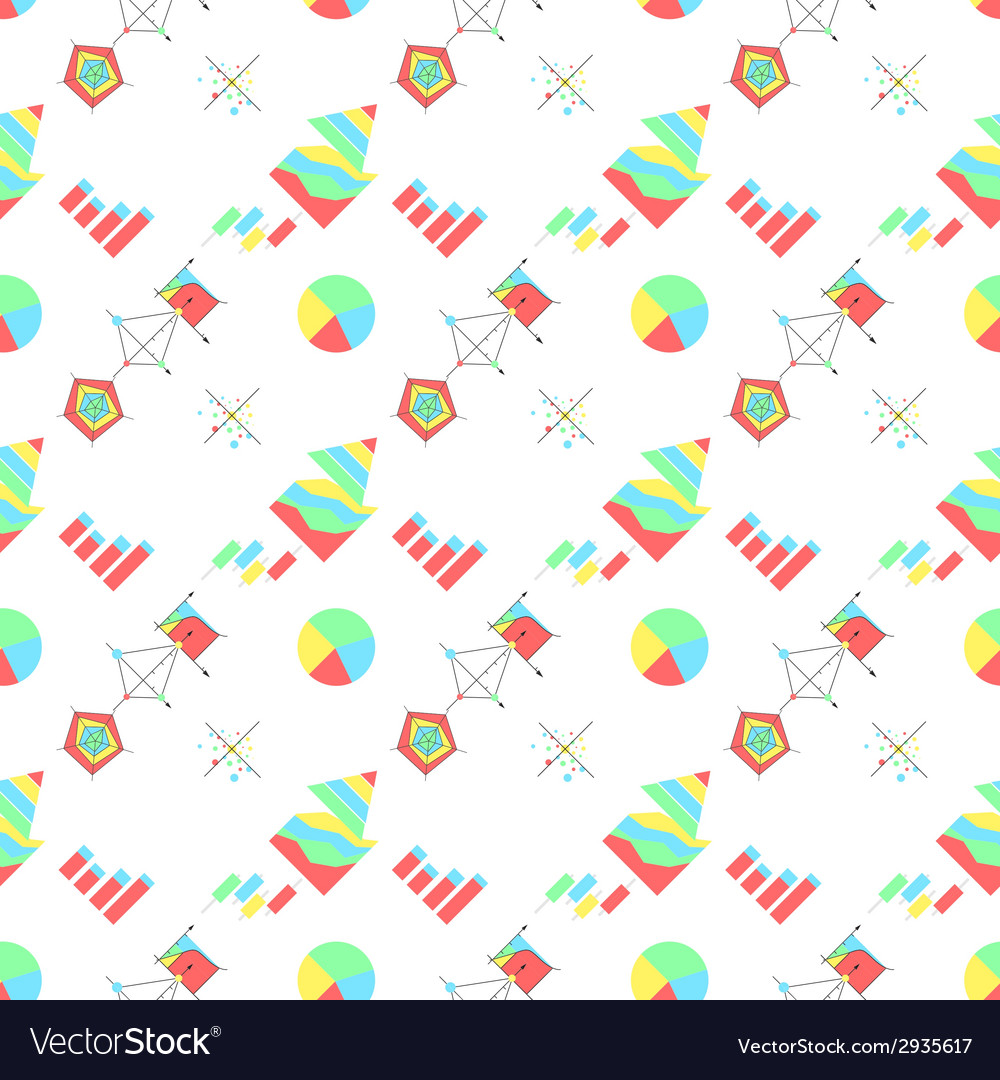 Background for economic charts vector | Price: 1 Credit (USD $1)
