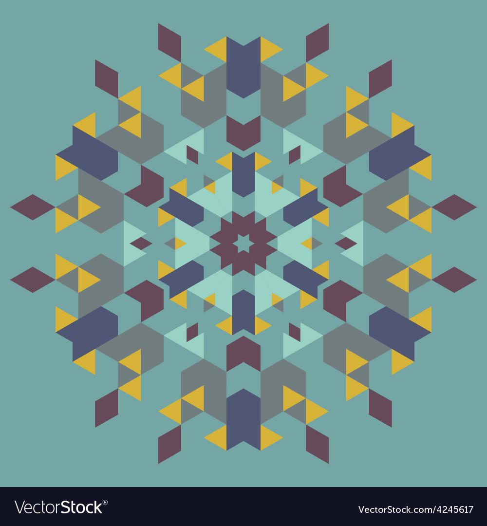 Circular geometric background vector   Price: 1 Credit (USD $1)