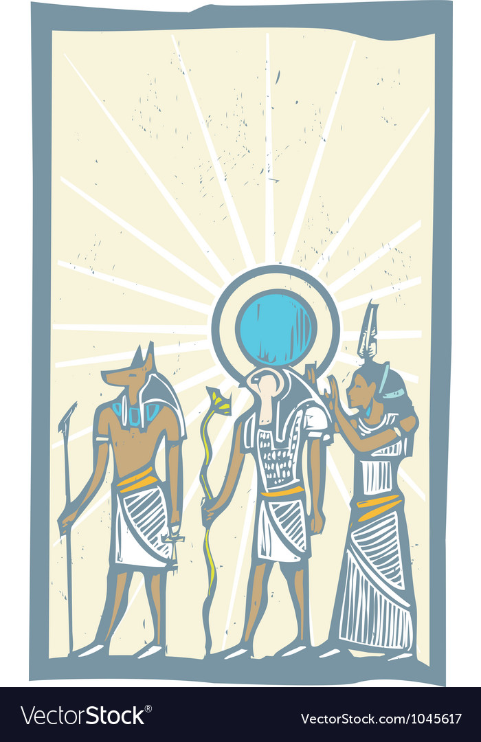 Hieroglyph sun rays vector | Price: 1 Credit (USD $1)