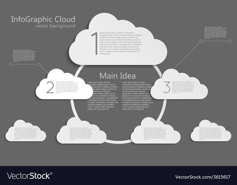 Info cloud vector | Price: 1 Credit (USD $1)