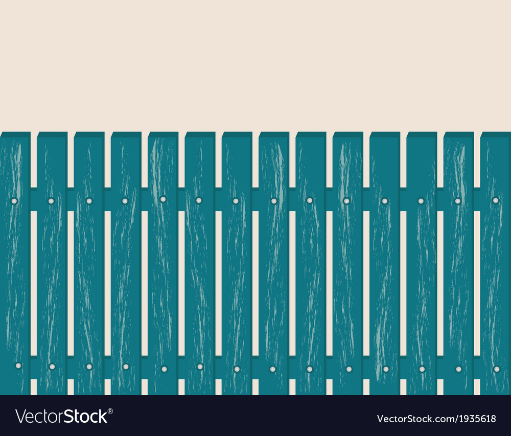 Blue fence vector | Price: 1 Credit (USD $1)