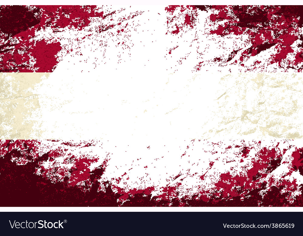 Austrian flag grunge background vector | Price: 1 Credit (USD $1)