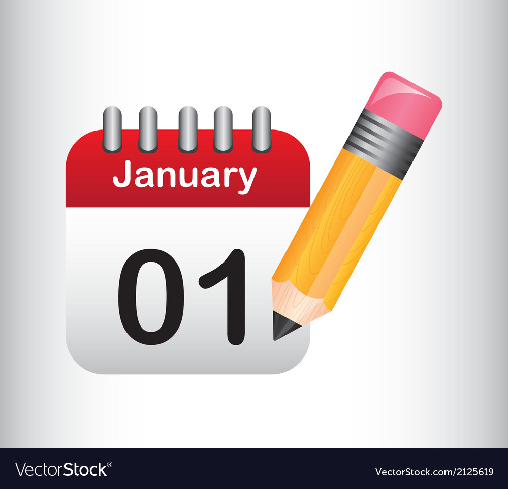 Cute calendar vector | Price: 1 Credit (USD $1)