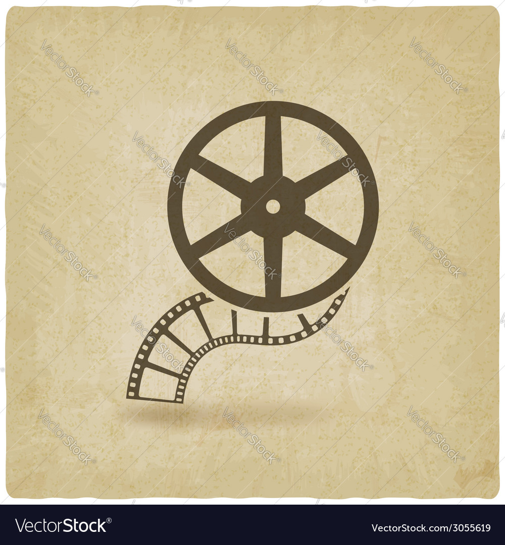 Film roll old background vector | Price: 1 Credit (USD $1)