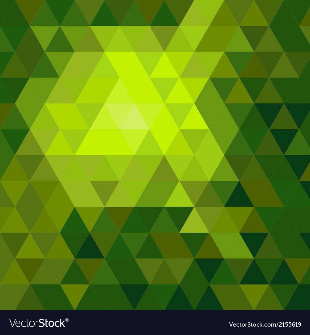 Shiny green mosaic background vector | Price: 1 Credit (USD $1)