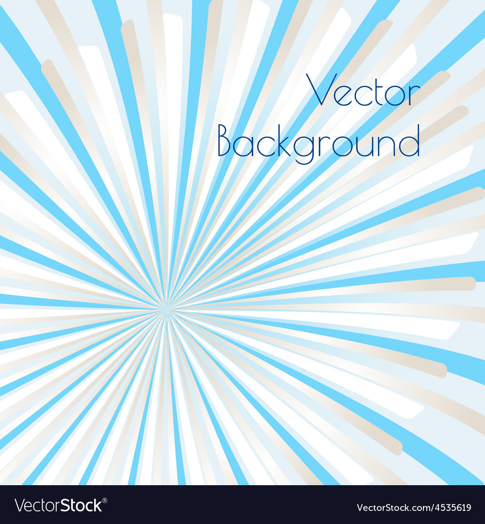 Warm rays vector | Price: 1 Credit (USD $1)