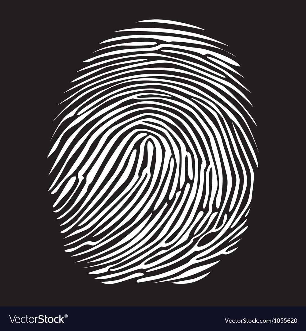 Fingerprints vector | Price: 1 Credit (USD $1)