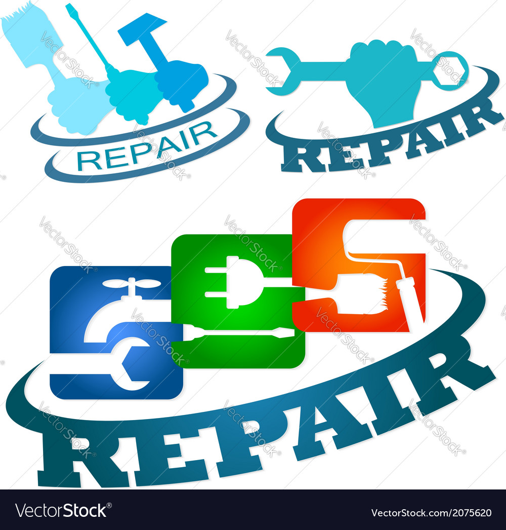 Symbol repair service vetor vector | Price: 1 Credit (USD $1)