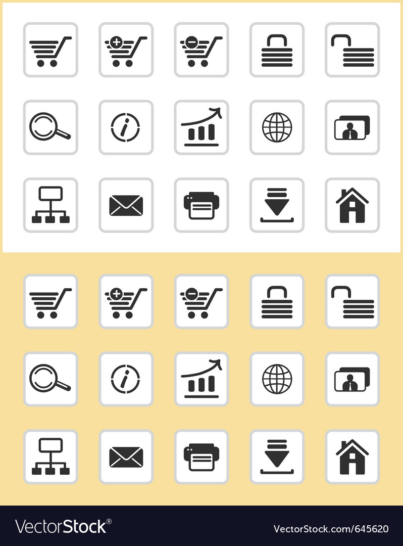 Www icons vector | Price: 1 Credit (USD $1)