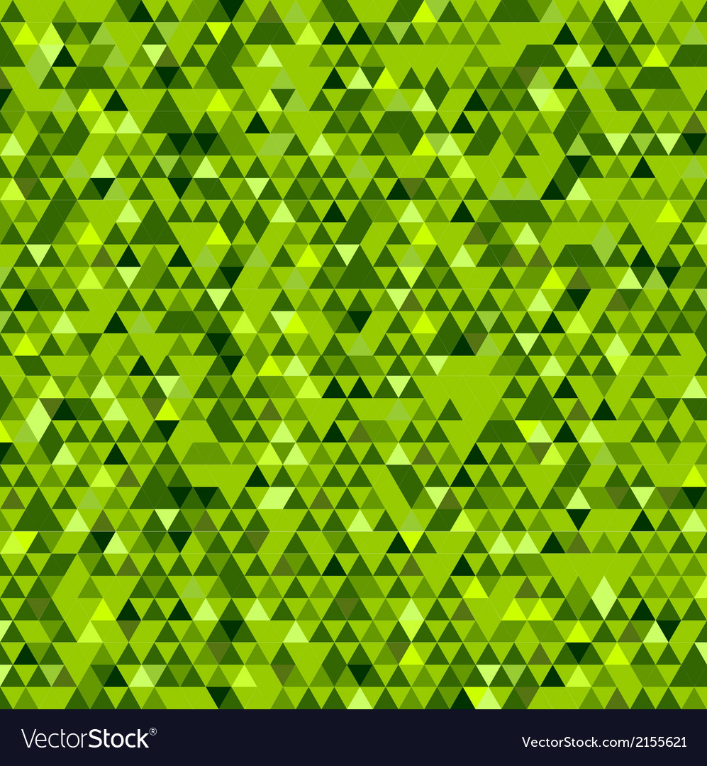 Abstract green mosaic background vector | Price: 1 Credit (USD $1)