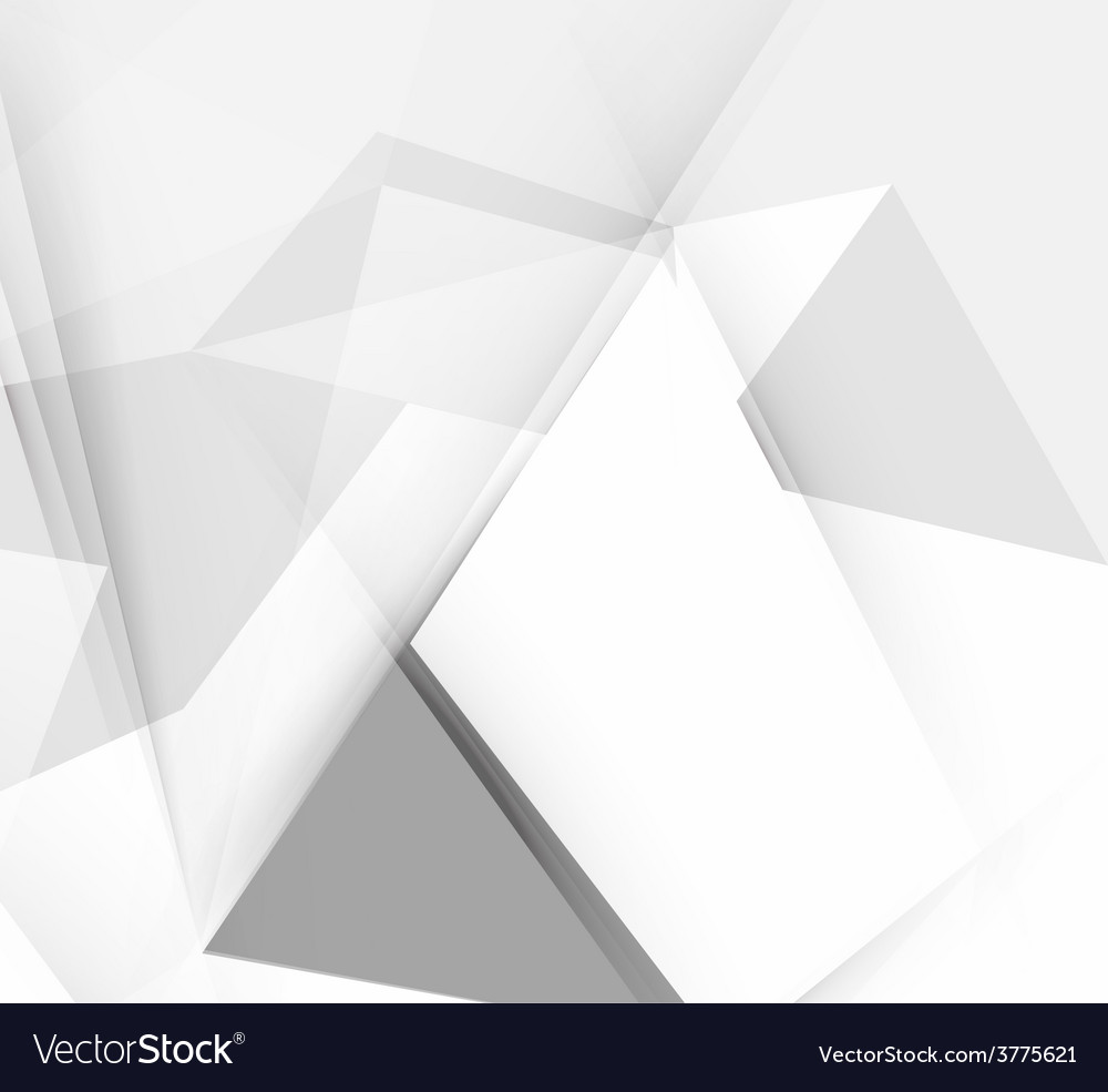 Grey triangular abstract background vector | Price: 1 Credit (USD $1)