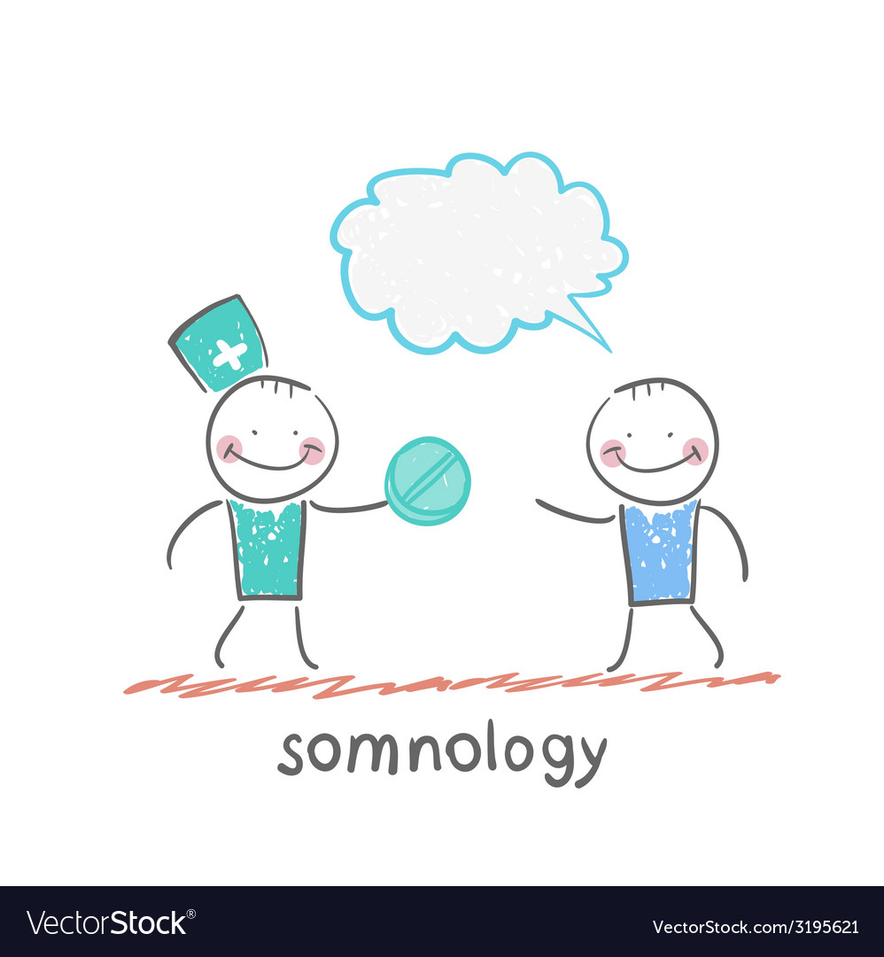 Somnology gives the patient pill vector | Price: 1 Credit (USD $1)