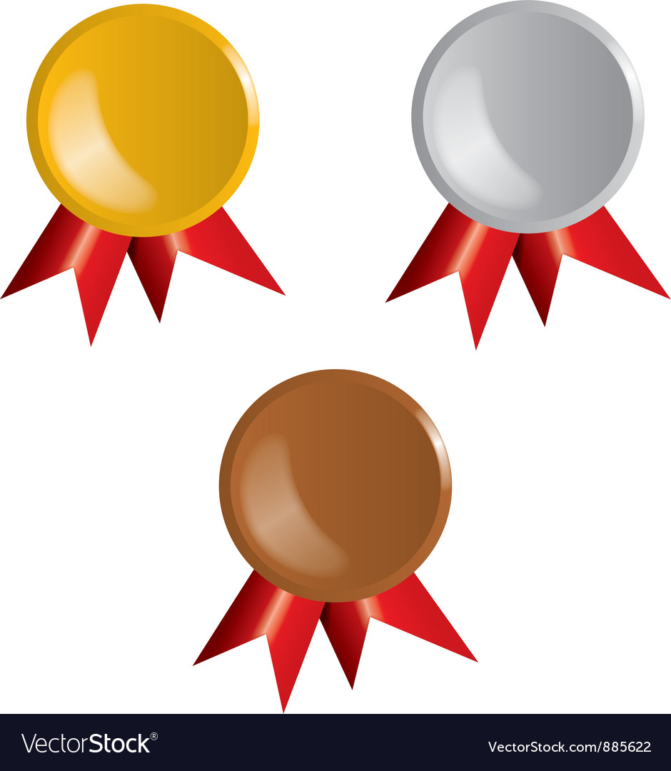 Awards ribbons vector | Price: 1 Credit (USD $1)