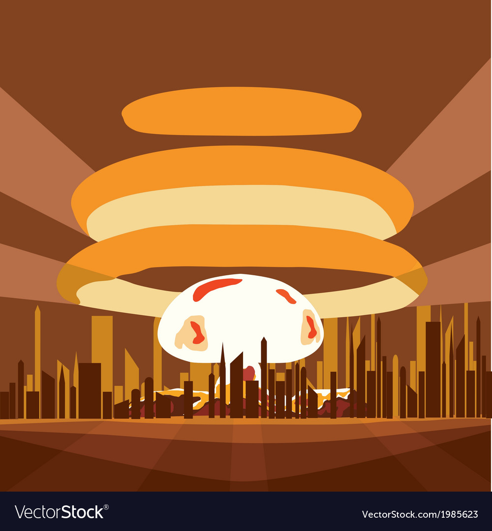 Atomic nuclear vector | Price: 1 Credit (USD $1)