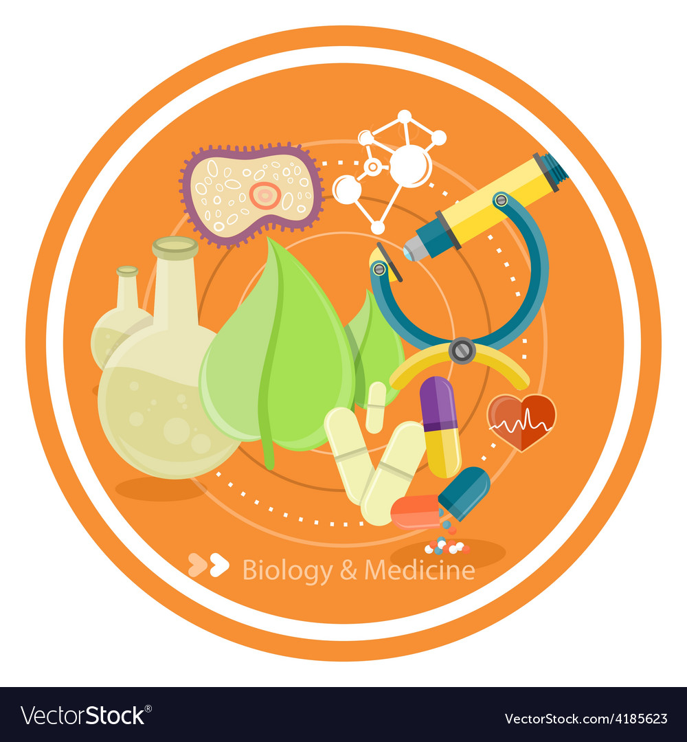 Biology and medicine vector | Price: 1 Credit (USD $1)