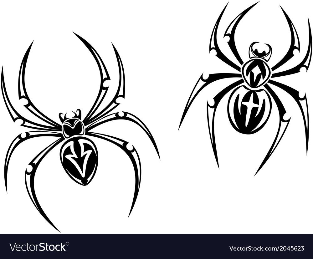 Danger spiders vector | Price: 1 Credit (USD $1)